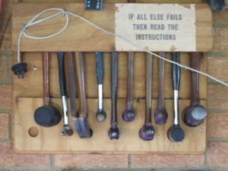 Hammer Storage Rack