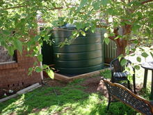 Water tanks reduce your reliance on town water