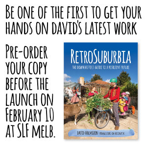 Be one of the first to get your hands on davids latest work. Pre-order your copy before the launch on February 10 at SLF Melb.